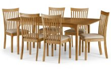 Ibsen Oak Extending Table & 4 Chairs